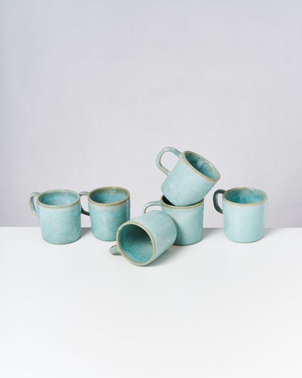Cordoama - Set of 6 Mugs big mint