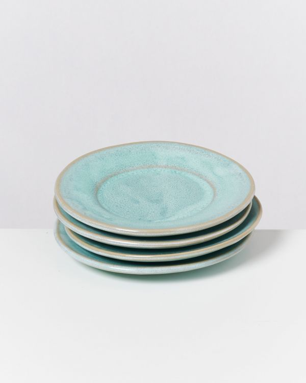 CORDOAMA - Set of 4 Saucers mint