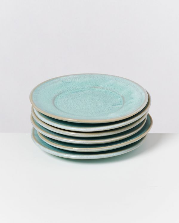 CORDOAMA - Set of 6 Saucers mint