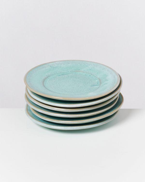 CORDOAMA - Set of 6 Saucers mint