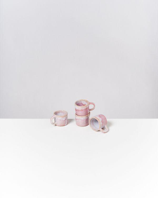 Cordoama 4er Set Espressotasse rosé