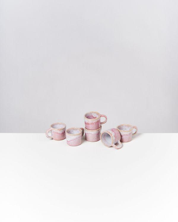 Cordoama 6er Set Espressotasse rosé