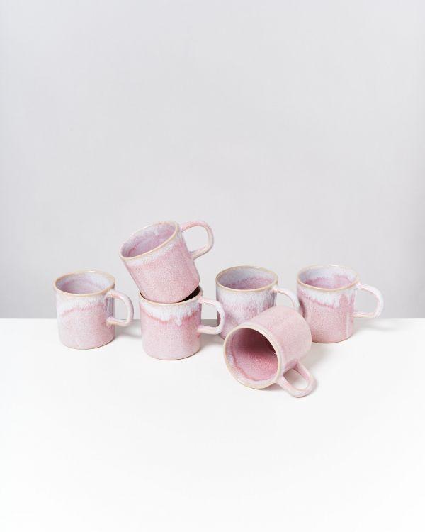 CORDOAMA - Set of 6 Mugs big rose
