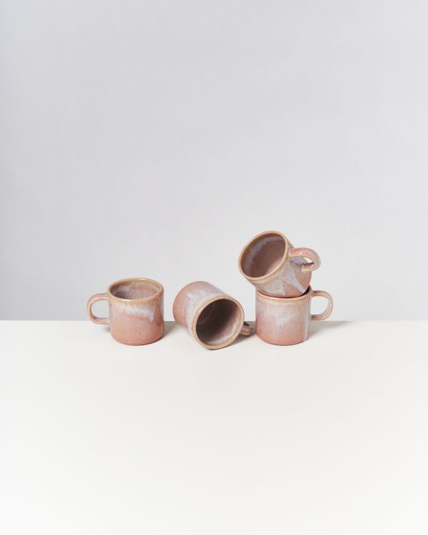CORDOAMA - Set of 4 Mugs small rose