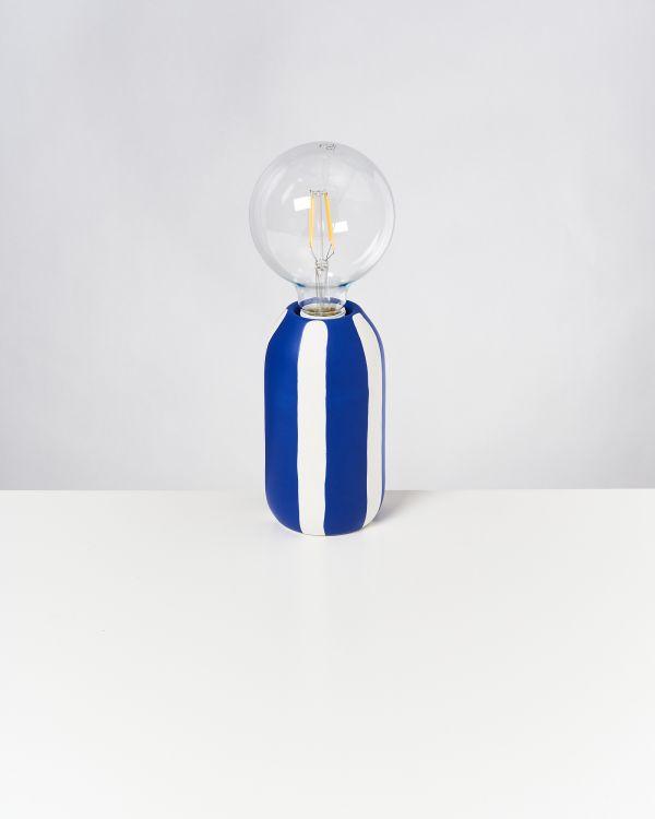 FAROL - Lamp blue striped