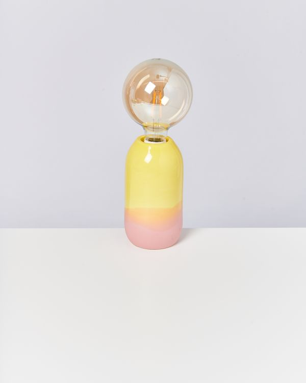 FAROL - Lamp yellow rose