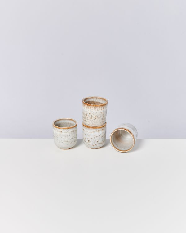 LUA - Set of 4 Cups small beige