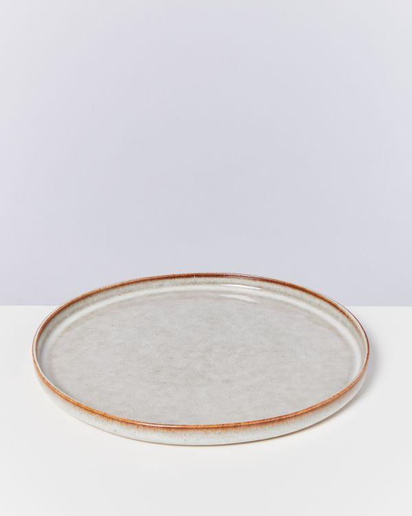 LUA - Plate large beige