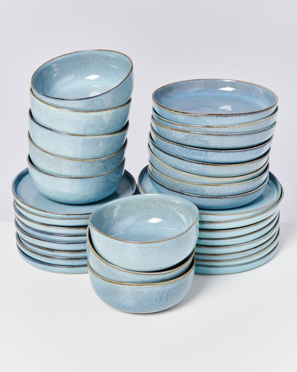 LUA blue - Set of 32 pieces