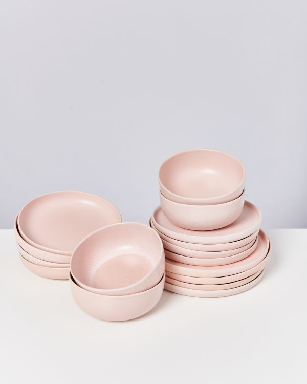 MACIO rose - Set of 16 pieces