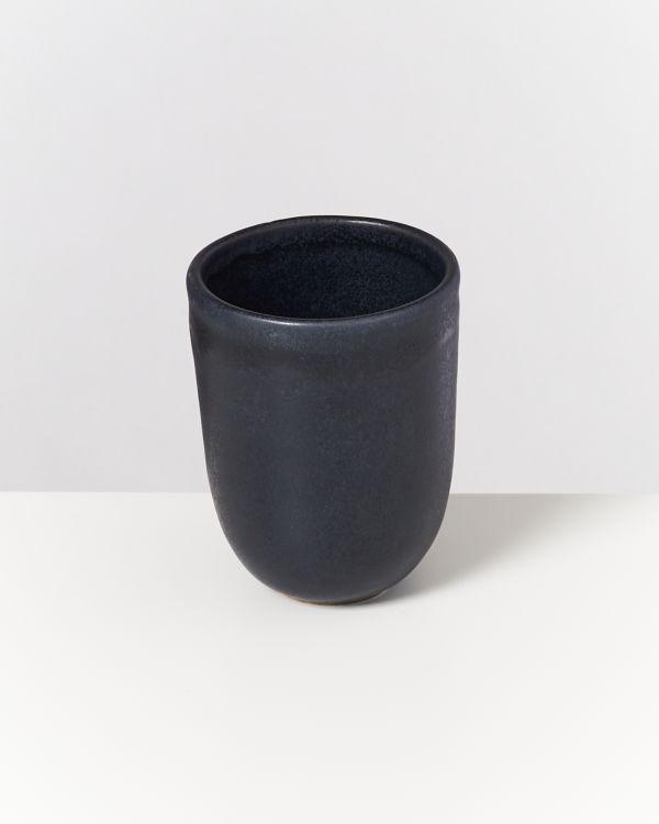 Macio Becher groß schwarz