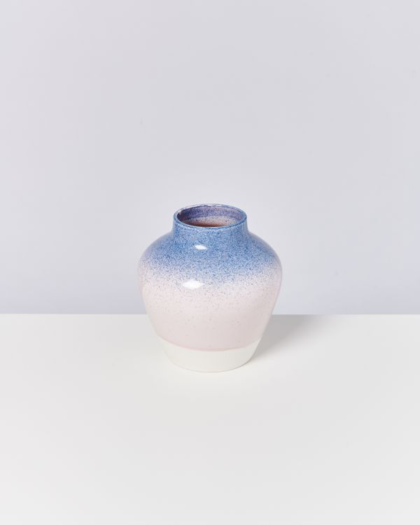 Madalin blau rosa gesprenkelt