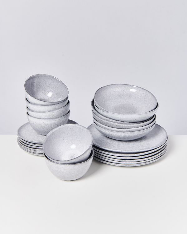 MAE grey - Set of 24 pieces