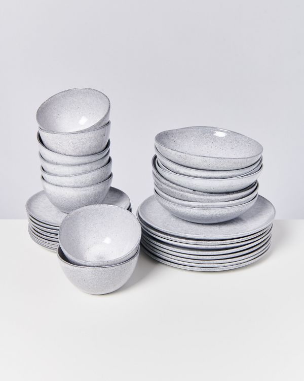 MAE grey - Set of 32 pieces