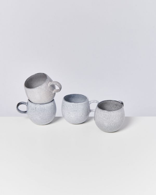 MAE - Set of 4 Mugs big grey