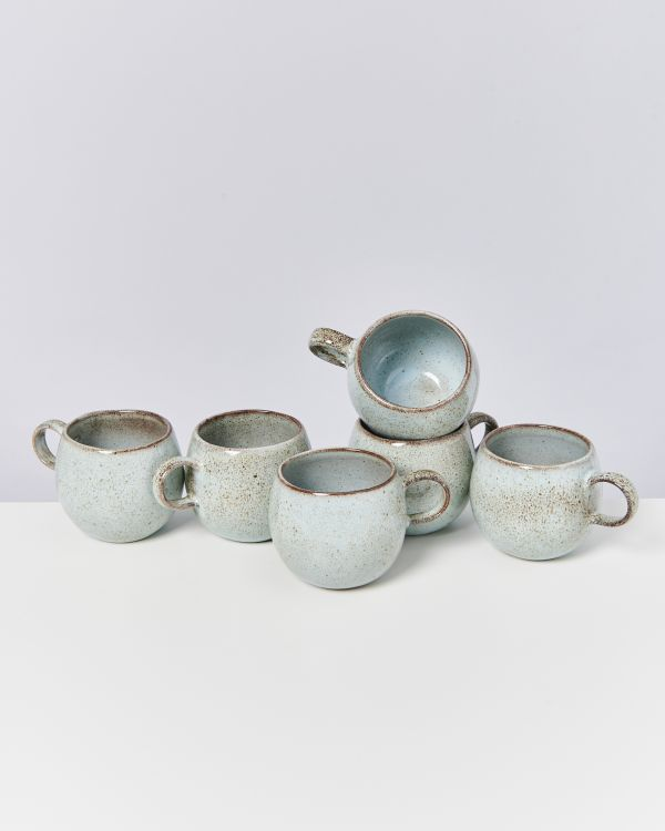 Mae - Set of 6 Cups big mint