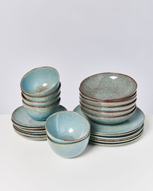 MAE turquoise - Set of 24 pieces