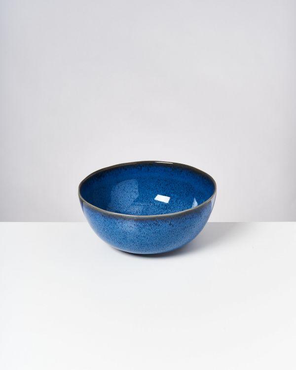 Melides - Servingbowl blue