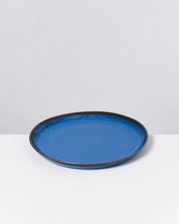 Melides - Plate small blue
