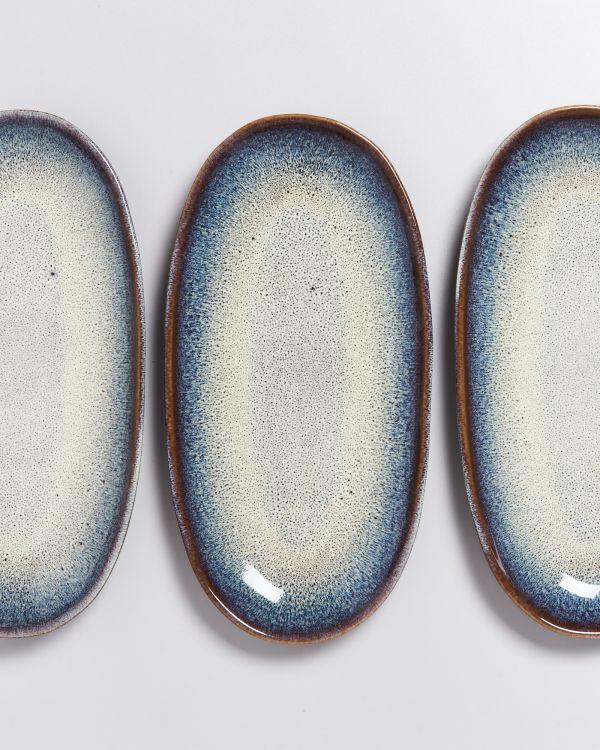 Melides Servierplatte L forest brown