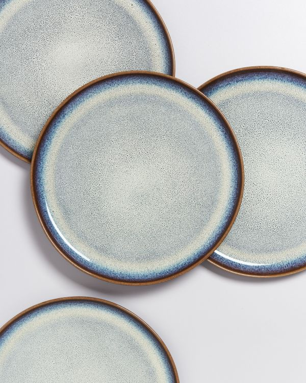 Melides - Plate large forest brown