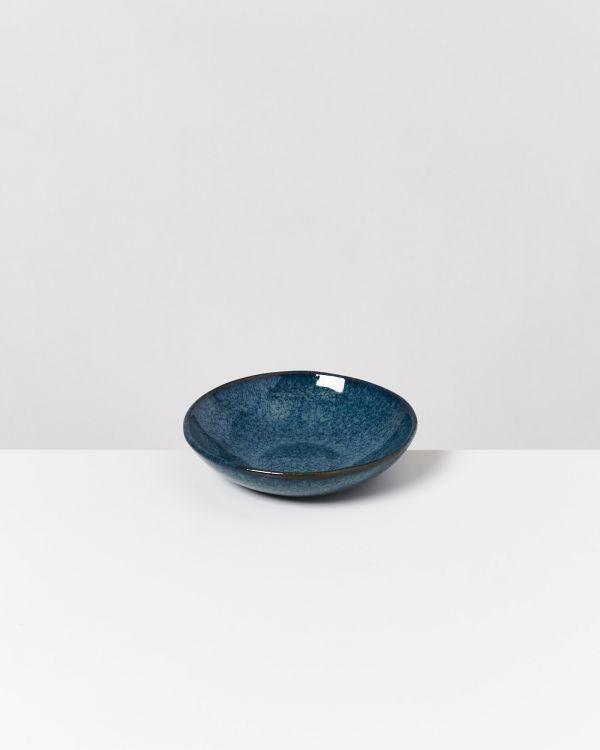 Melides - Mini Plate deep navygreen
