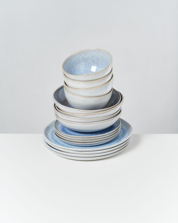 Melides - Set of 16 pieces stoneblue