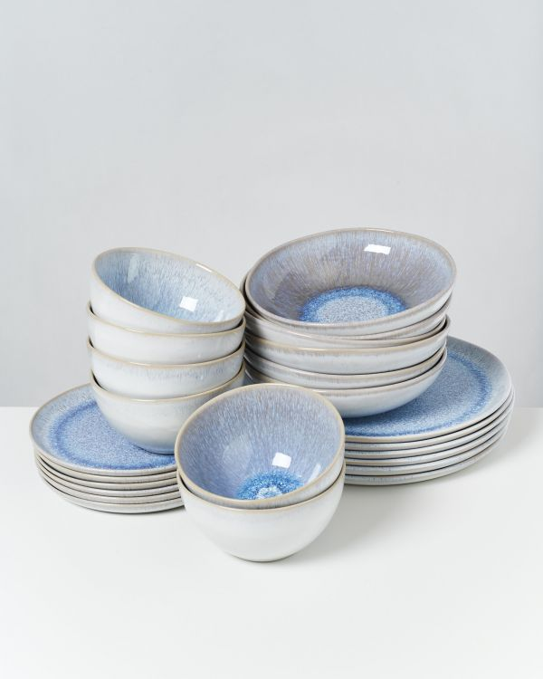 Melides - Set of 24 pieces stoneblue