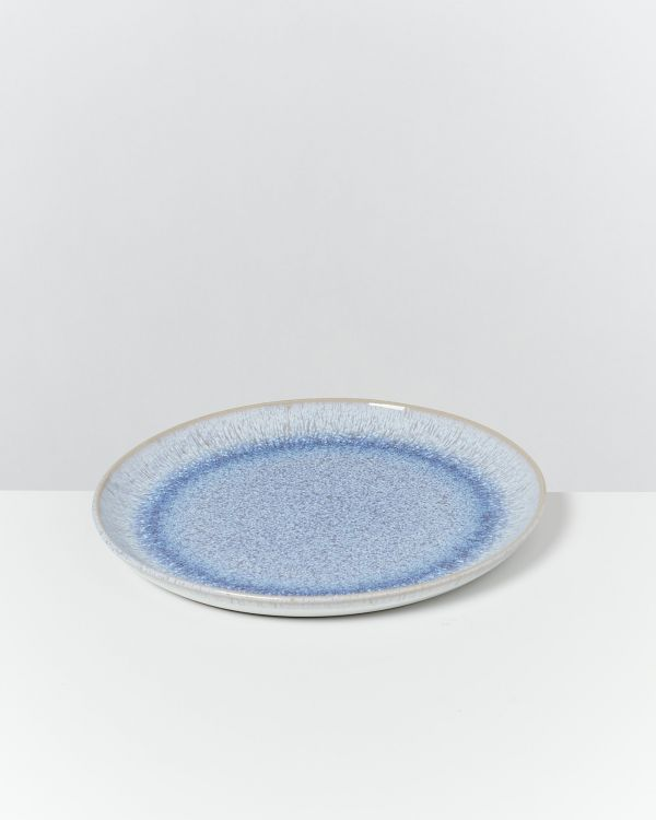 Melides - Plate small stoneblue