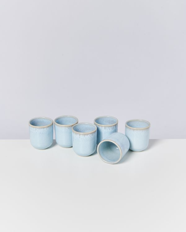PINGO - Set of 6 Cups small lavender