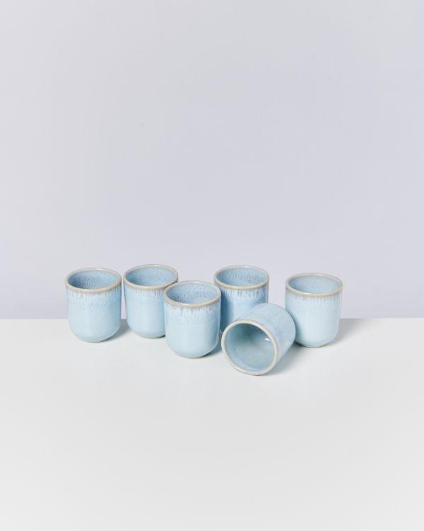 Pingo 6er Set Becher klein lavender