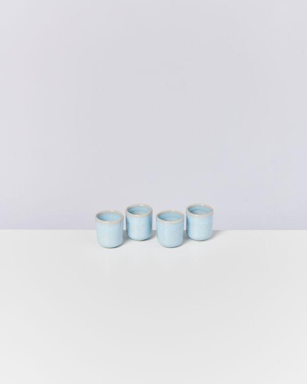 Pingo 4er Set Espressobecher lavender