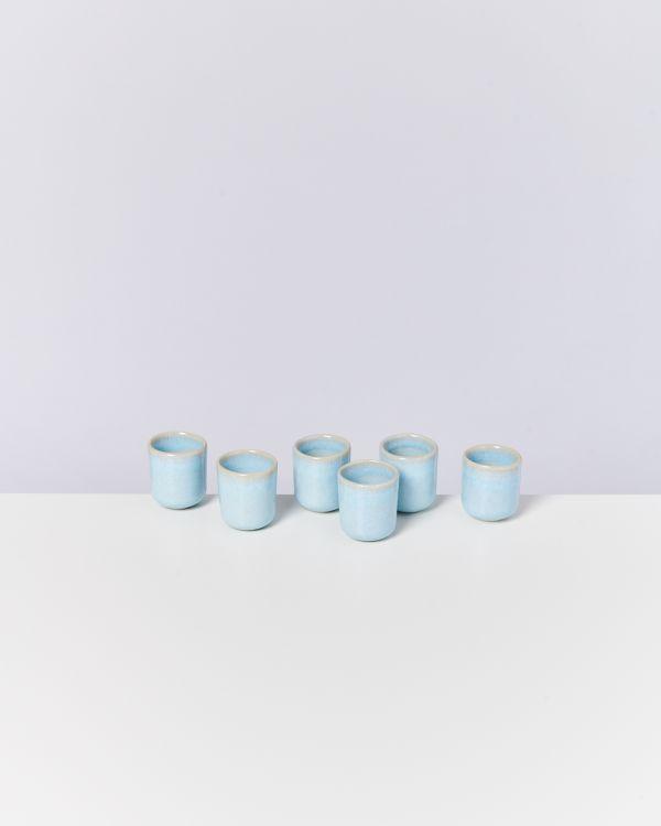 Pingo 6er Set Espressobecher lavender