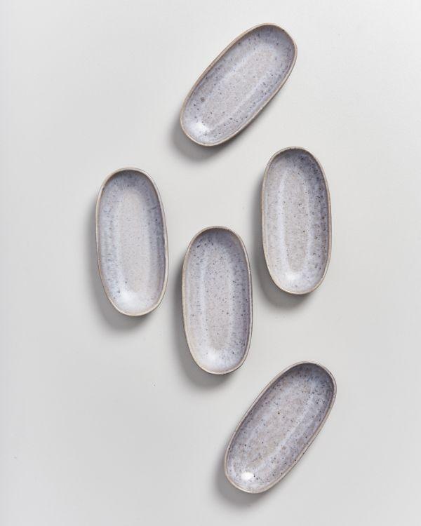 PORTO - Serving Platter S grey