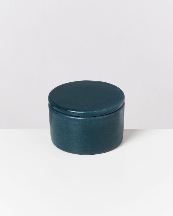Tavira – Bowl with lid green