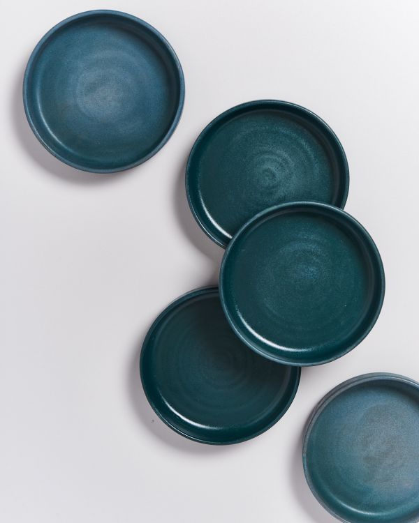 TAVIRA - Mini Plate deep green
