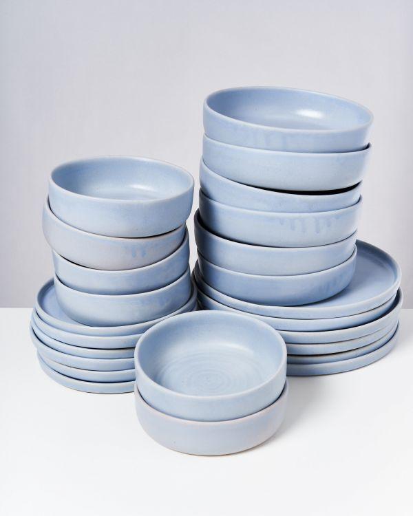 TAVIRA - Set of 24 pieces pastel blue