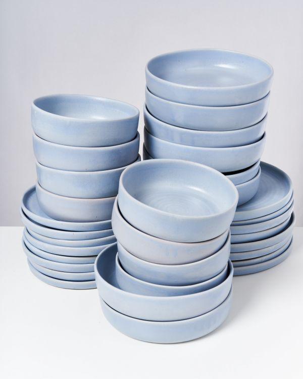 TAVIRA - Set of 32 pieces pastel blue