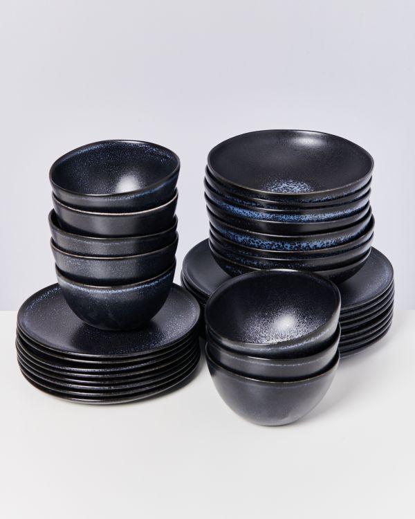 Turmalina schwarz - 32 teiliges Set