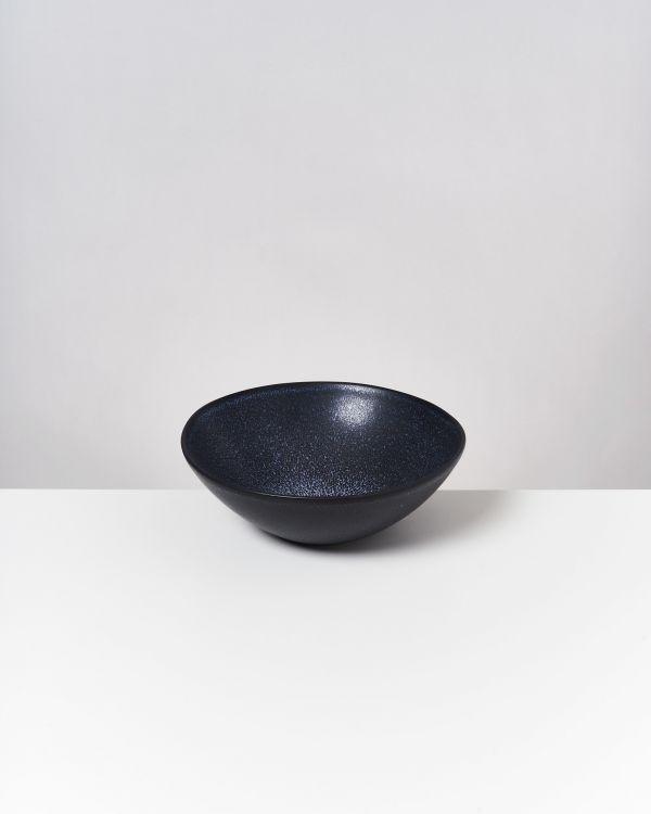 Turmalina - Servingbowl flat small black