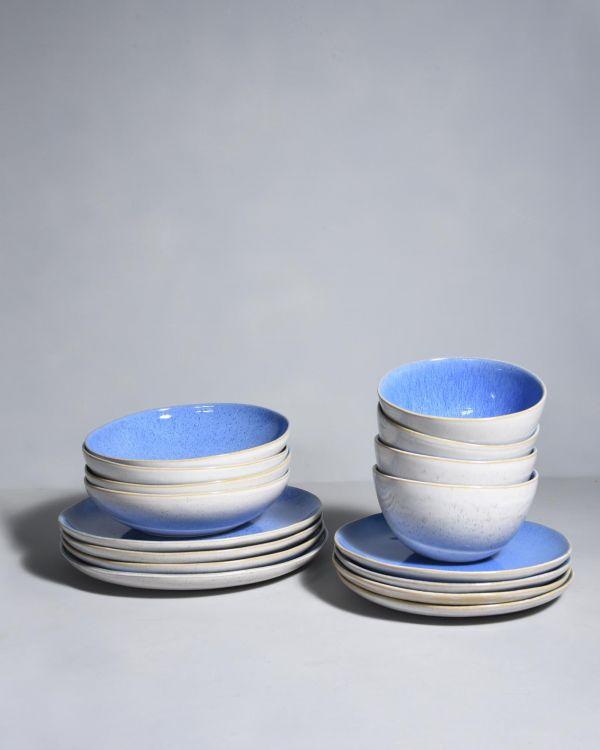 Areia 4er Set royal blau
