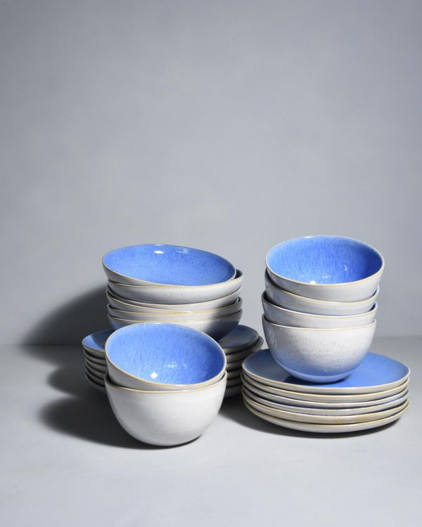 AREIA - Set of 6 royal blue