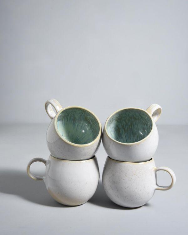 Areia 4er Set Tasse mint