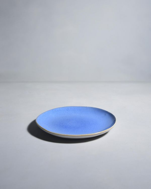 AREIA - Plate small royal blue