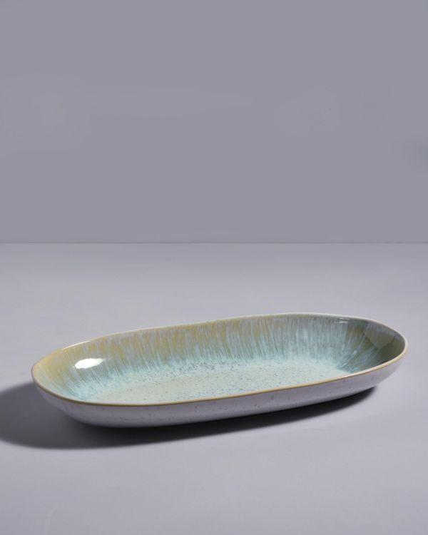 Areia Ovale Servierplatte L mint