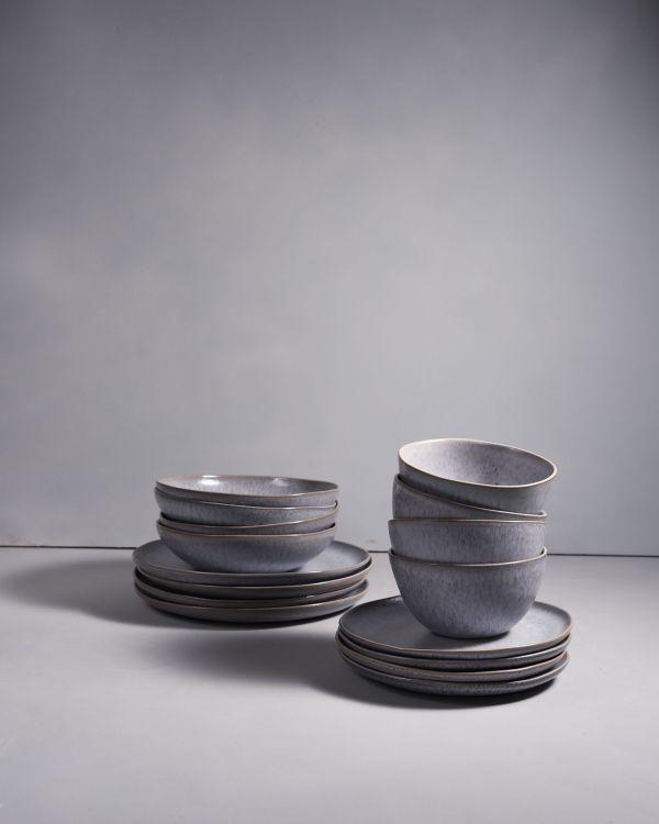 PORTO grey - Set of 16 pieces