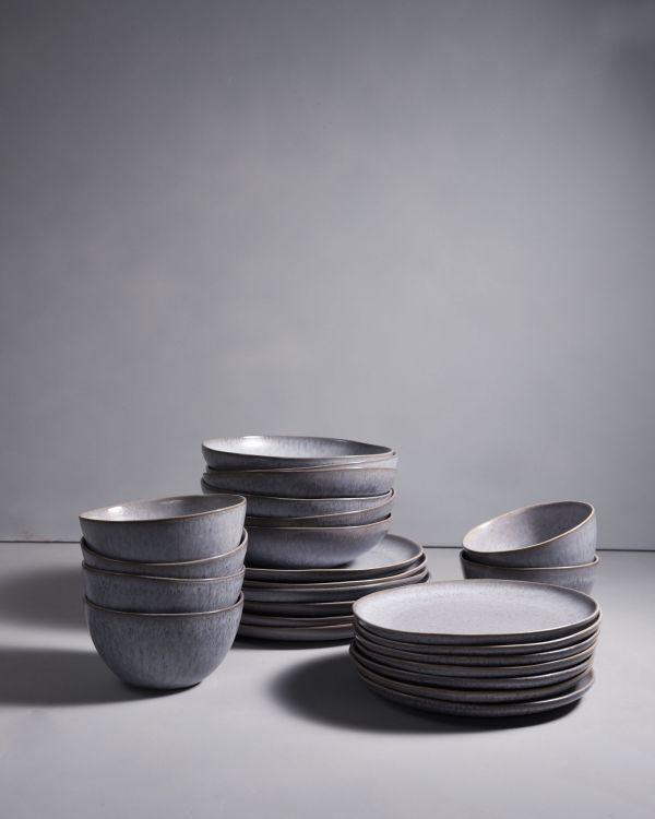 PORTO grey - Set of 24 pieces