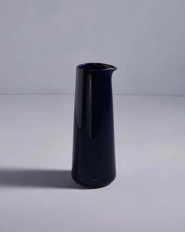 Pinguim Karaffe dunkelblau