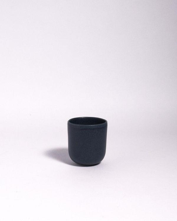Macio Becher blau-schwarz