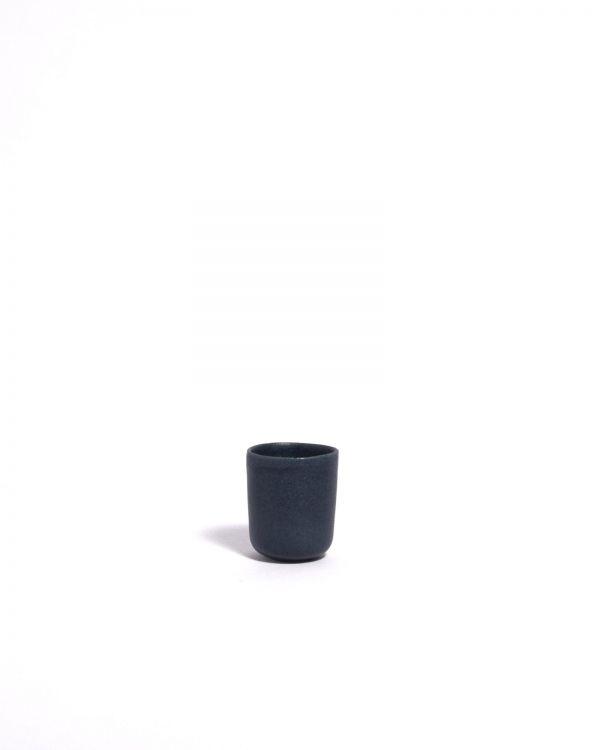 Macio Espressobecher blau-schwarz